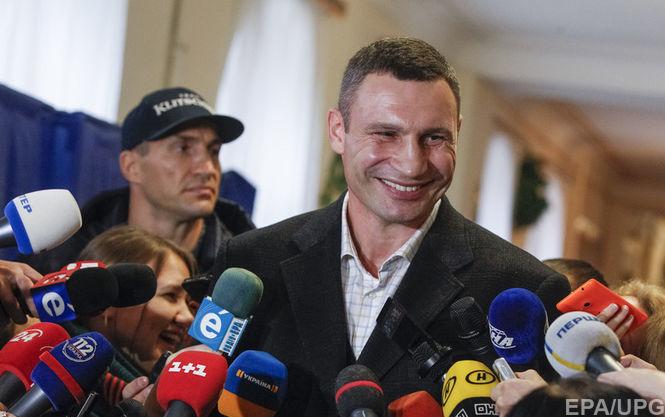 Кличко избран главой Ассоциации городов Украины